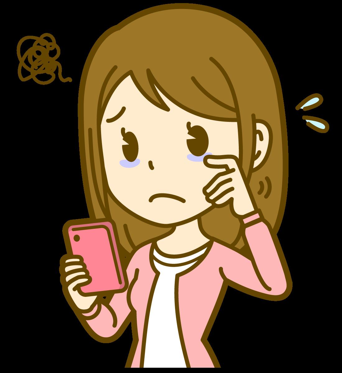 電話占い依存症