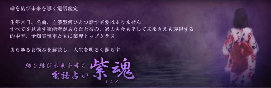 電話占い紫魂
