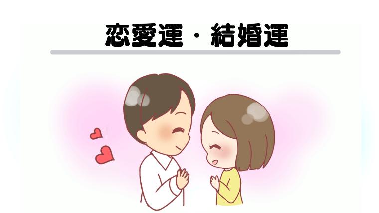 恋愛運・結婚運