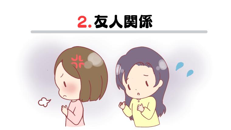 2.友人関係